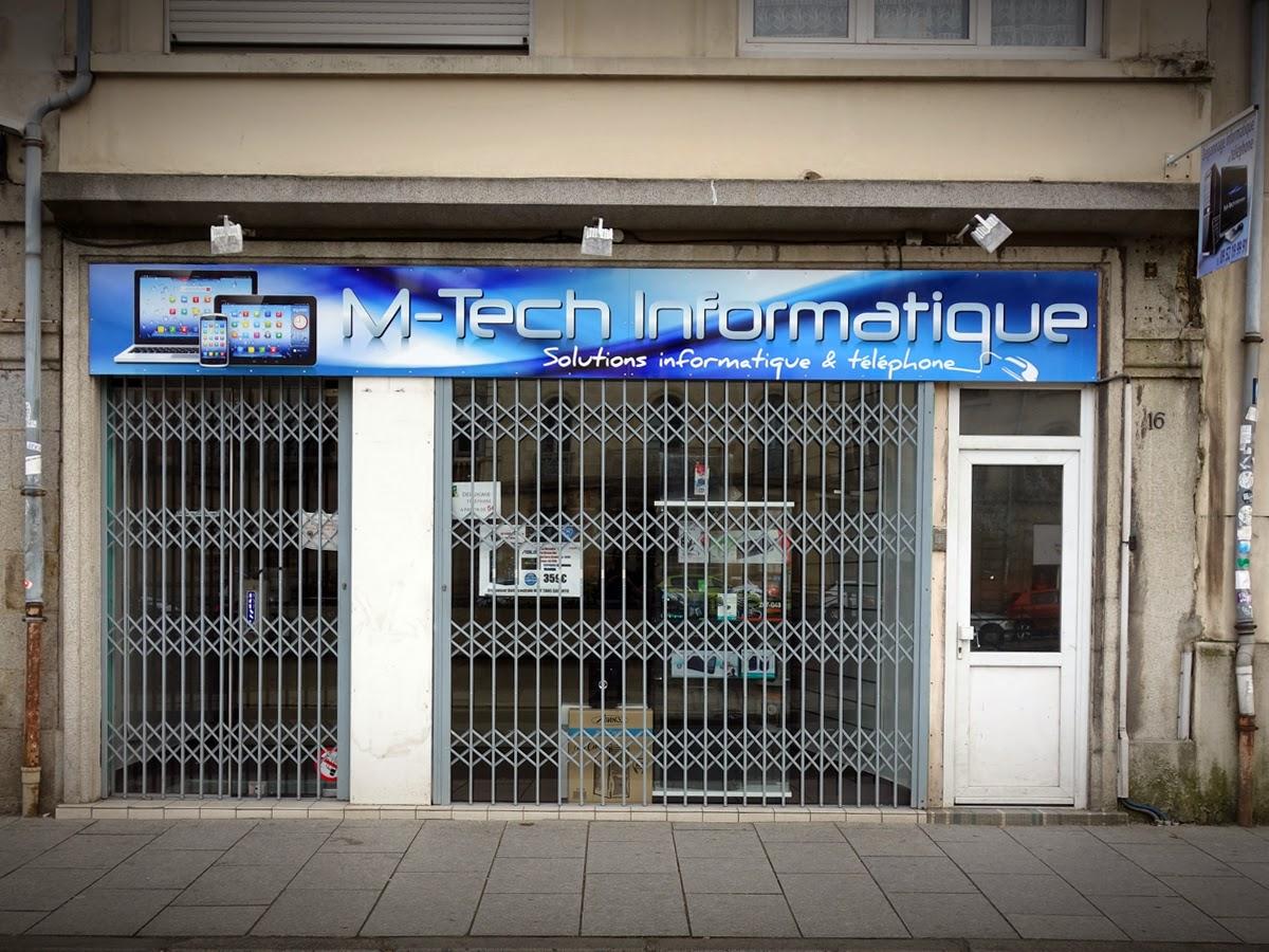 M-TECH INFORMATIQUE (Services et dépannage informatique)