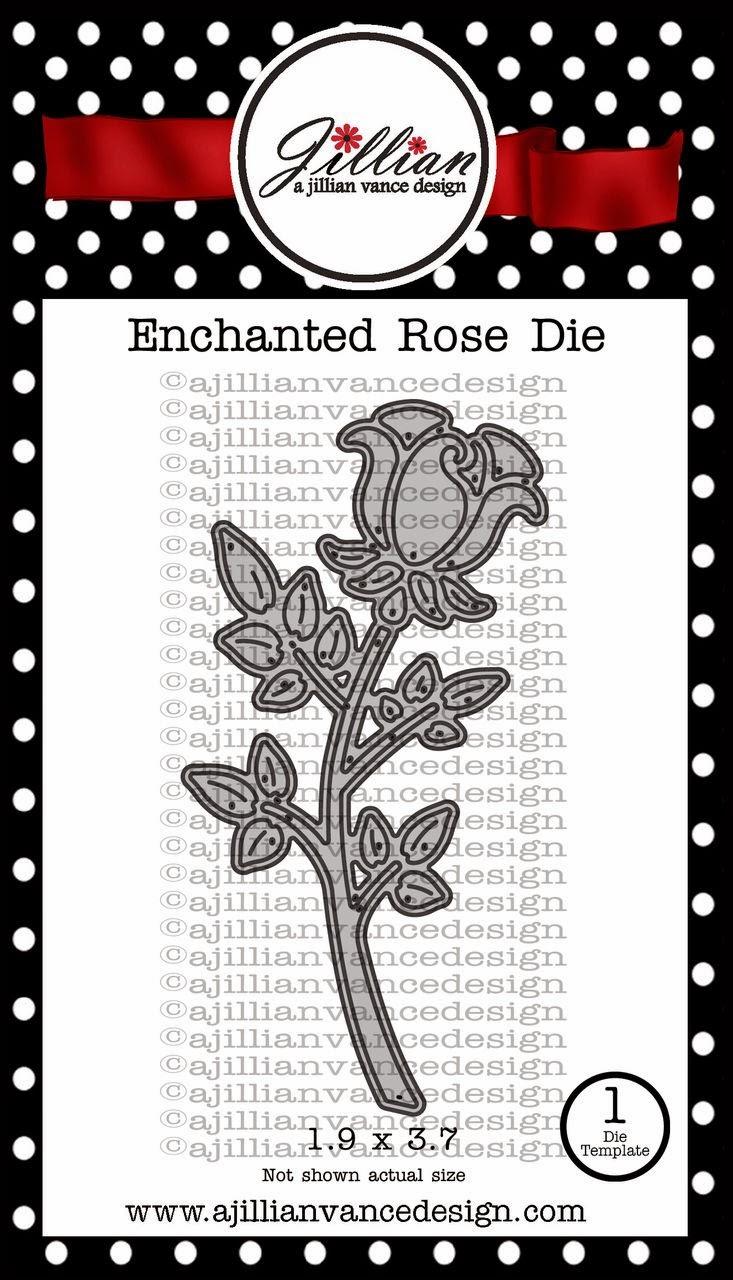 Enchanted Rose Die