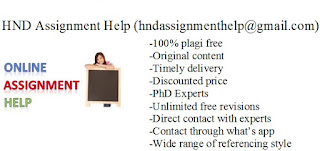 HND Assignment Help (hndassignmenthelp@gmail.com) http://btechndcourse.blogspot.in/ http://assignmenthelpblog.blogspot.in/