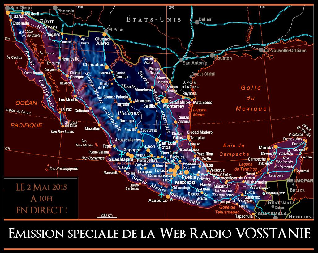 Prochaine émission de Radio Vosstanie le 2 Mai 2015 à 10h en Direct !