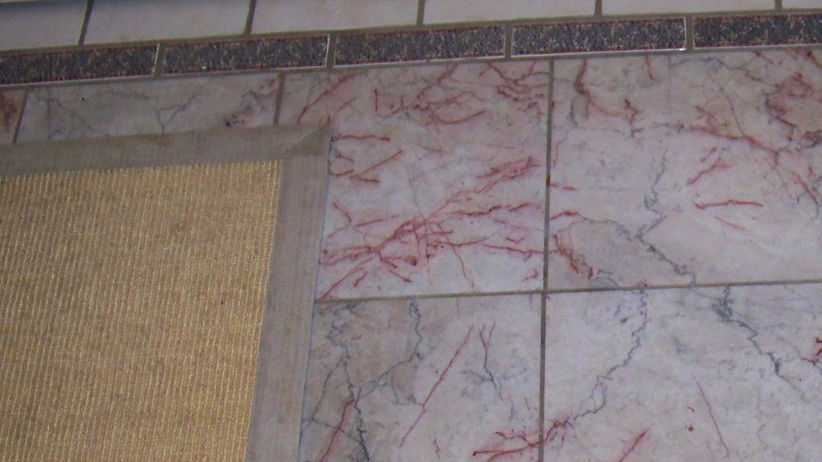 Cherry Blossom Marble Tile Design Ideas