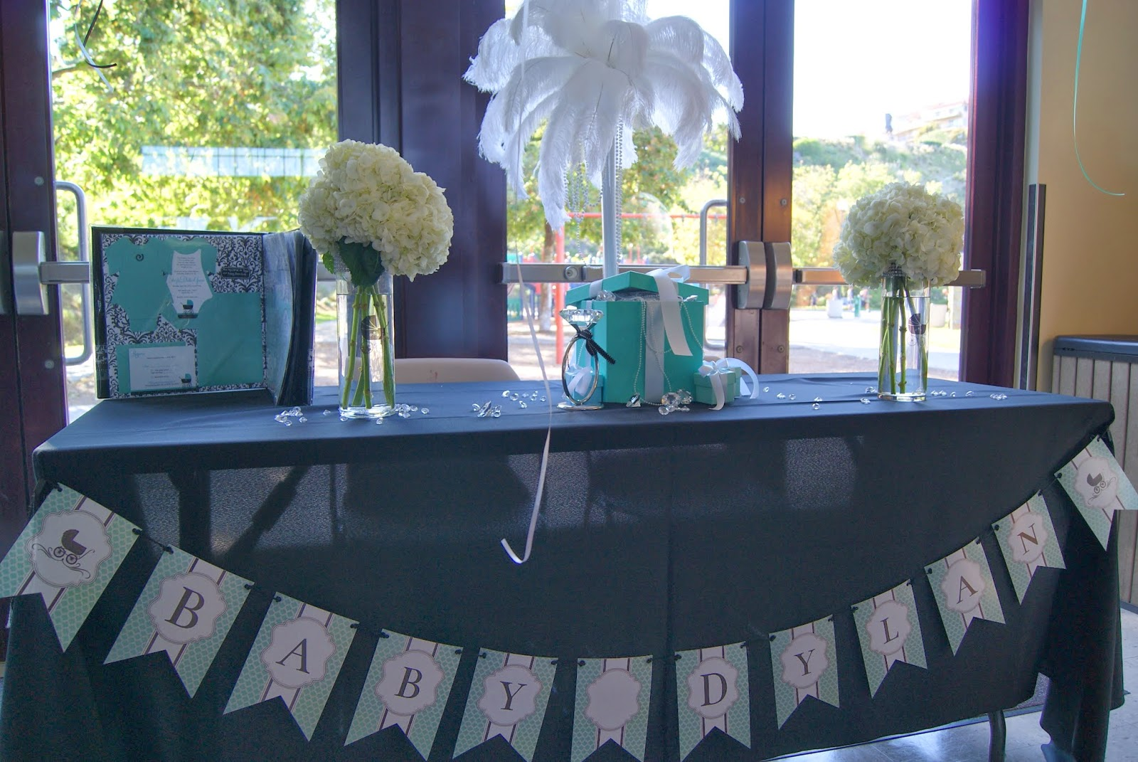 breakfast at tiffany's baby shower, allthingsslim