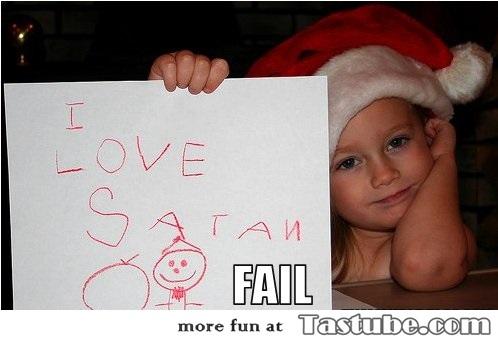 she means santa claus