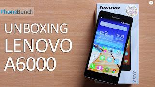 Spesifikasi dan Harga Lenovo A6000 Terbaru