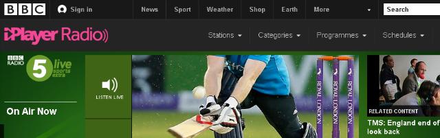 BBC Radio 5 Live Sports