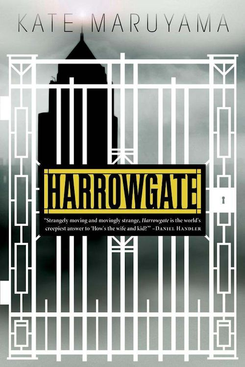 Interview with Kate Maruyama, author of Harrowgate - October 24, 2013