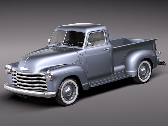 Classic chevrolet pickups picture 3