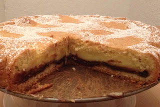 torta nutella crema