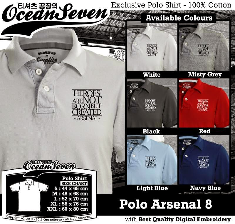 Kaos Polo Arsenal 8