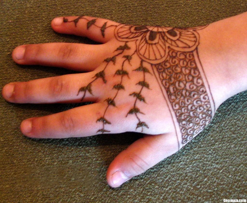 Mehndi For Kids Full Hand : Eid mehndi designs  latest mehandi