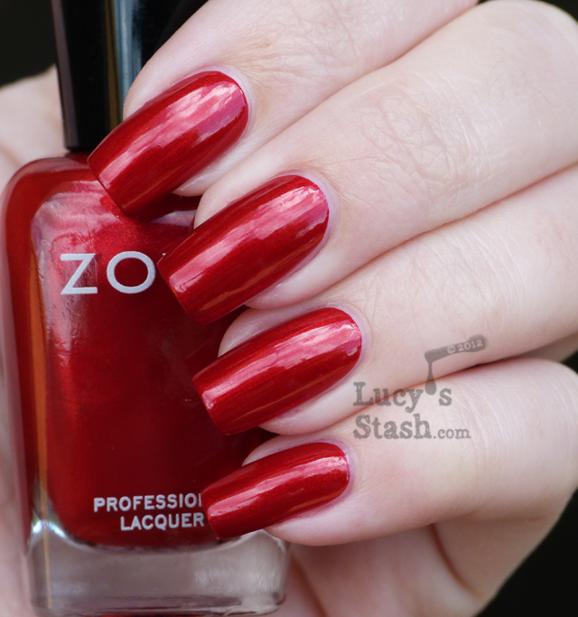 Lucy's Stash - Zoya Diva Collection for Fall 2012 - Elisa