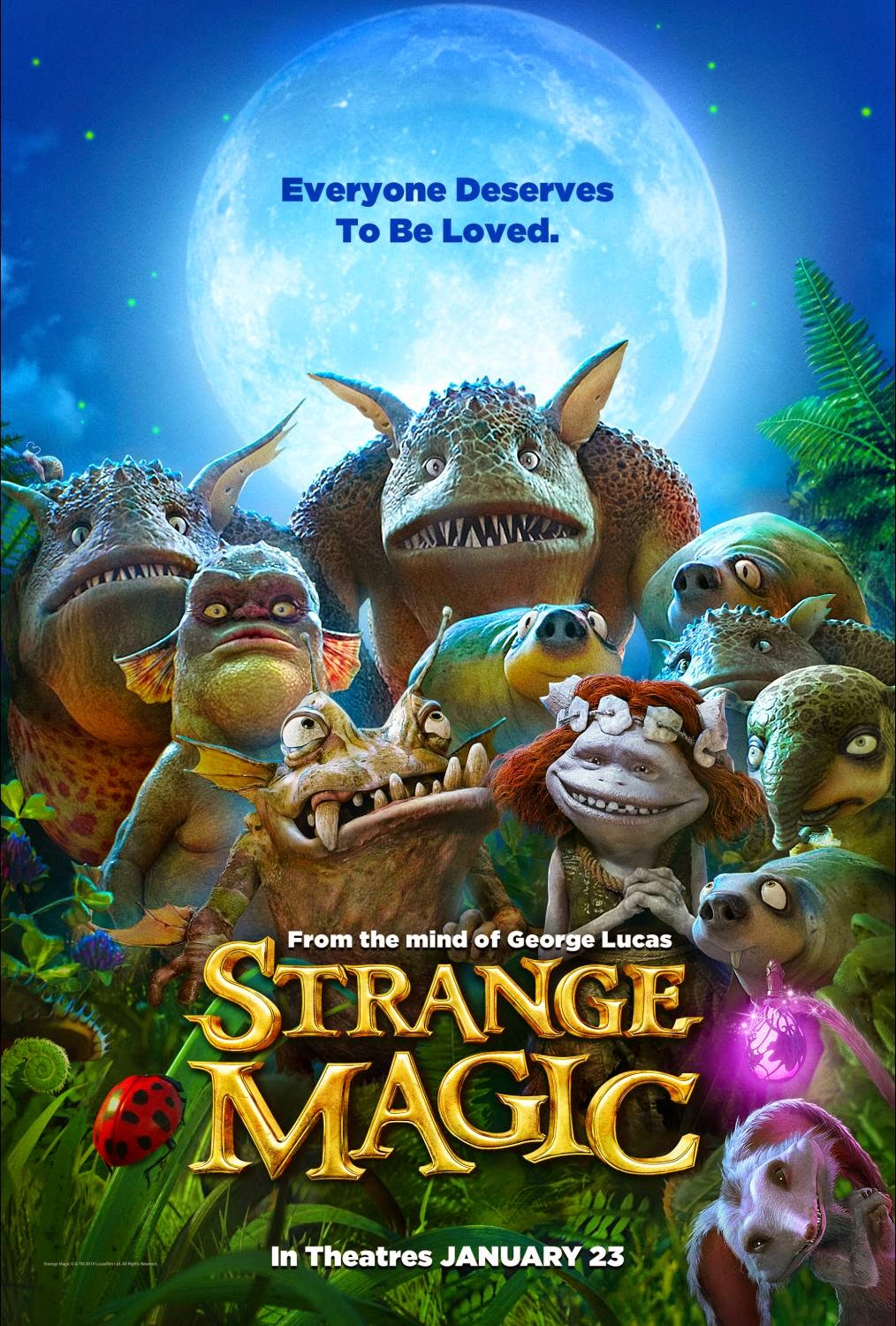 Strange Magic Family Activity Sheets
