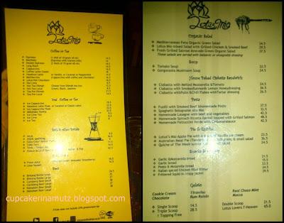 Kuliner jogja lotus mio coffee gelato rina chabbymutz for Z kitchen jogja menu