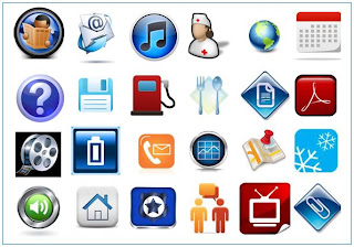 Computer Icons for Computer Screens & Mobiles
