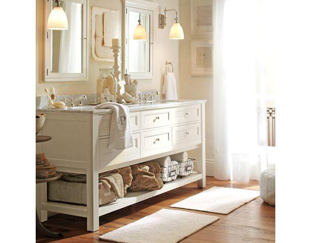 bathroom dreams a la pottery barn. Black Bedroom Furniture Sets. Home Design Ideas