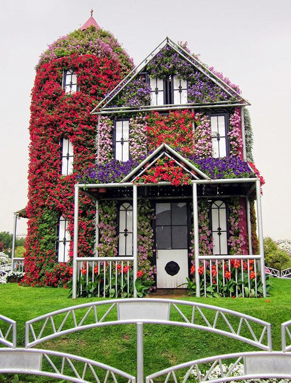 El jard n milagroso de dubai que fue construido - Cortavientos de jardin ...