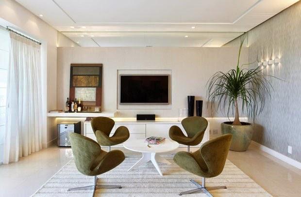 Sala De Estar Ou Living ~ Salas de bate papoconversação – veja lindos ambientes com essa
