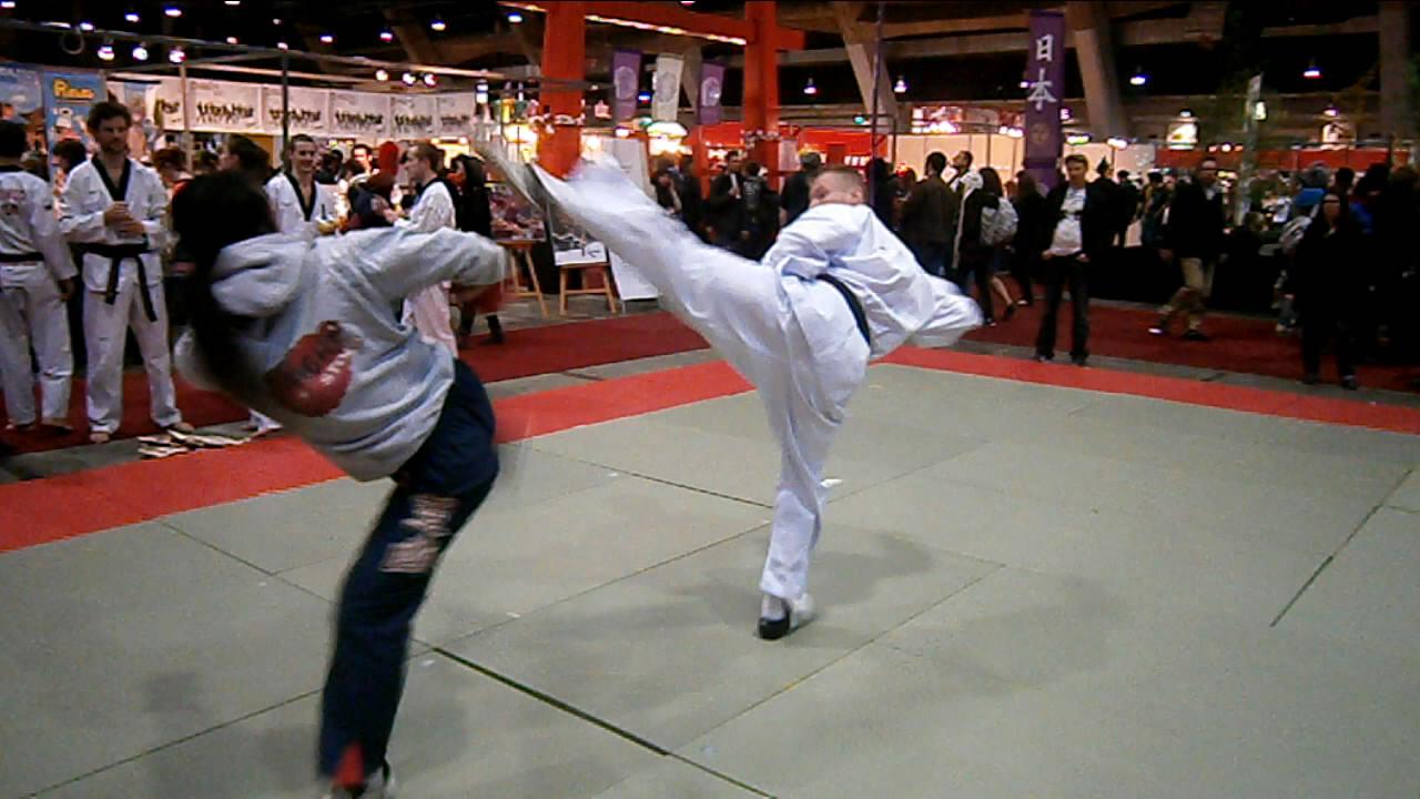 Taekwondo performance 5e edition du salon made in asia for Salon made in asia