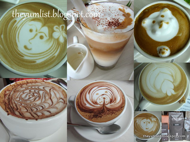 Subang First Mall, Urbane Bazaar, cafe, coffee, latte art, espresso