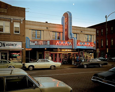 Stephen Shore, Second Street, Ashland, Wisconsin, July 9, 1973