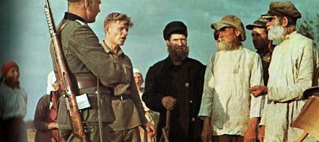 Крестьяне России, оккупация