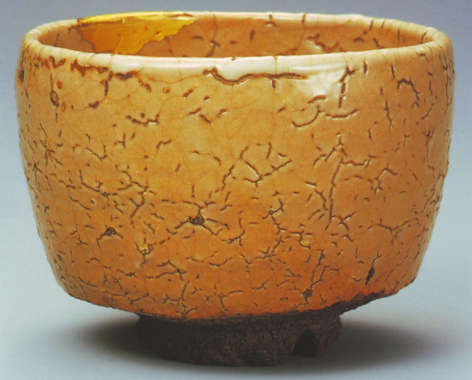 bol à thé en céramique de style Hagi