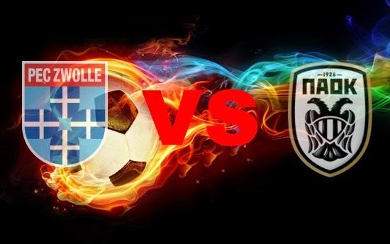 Prediksi Skor Terjitu PEC Zwolle vs PAOK jadwal 19 Juli 2014