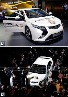 Opel Vauxhall Ampera 2012
