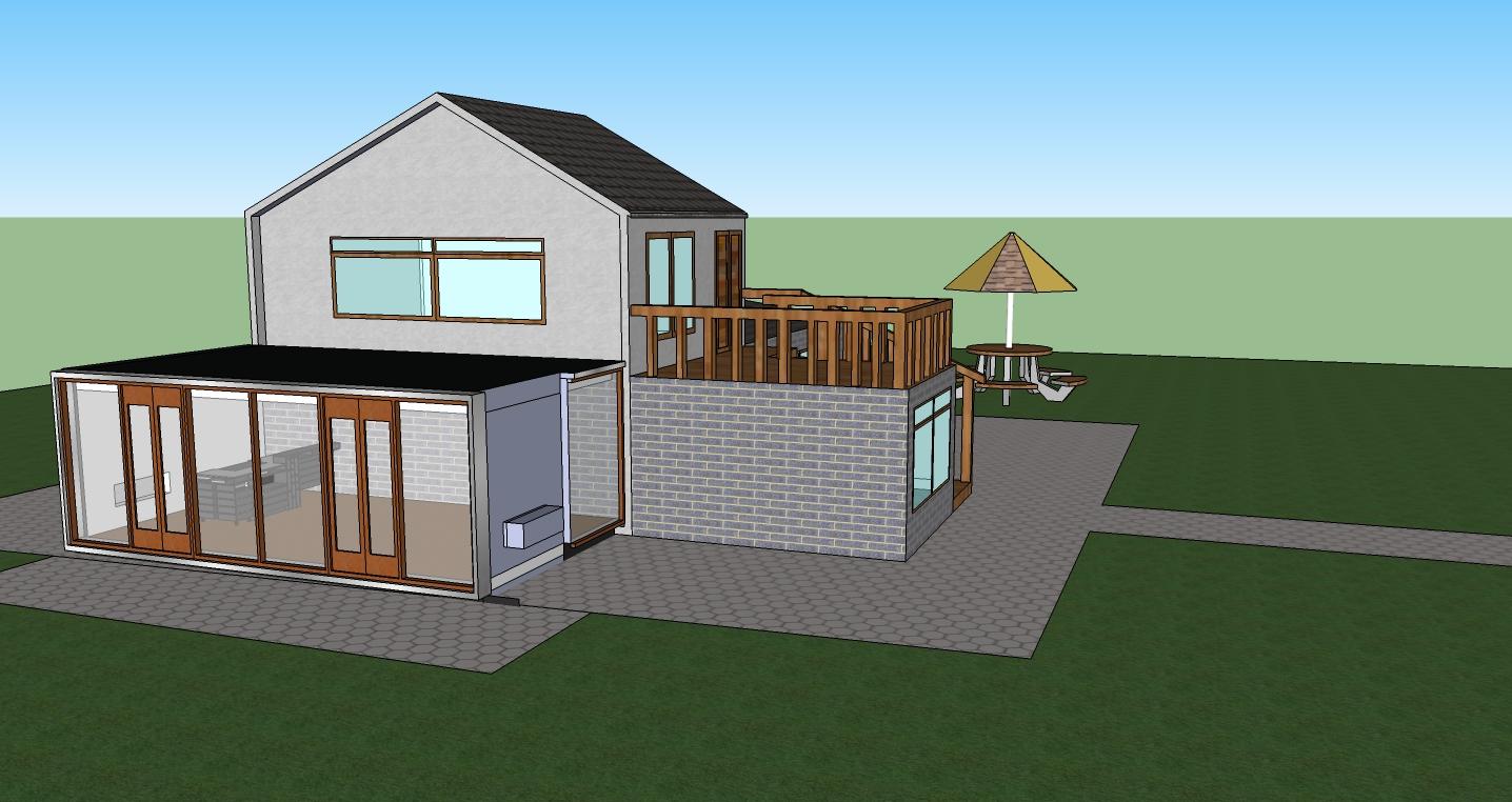 d zyne house design using google sketch up