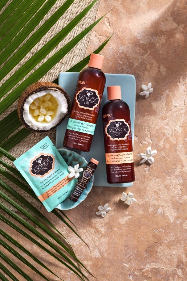 HASK Monoi Oil Nourishing Family of products