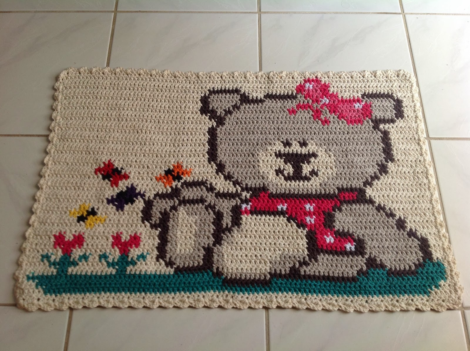 Modelos Tapetes Infantis Crochê Onde Comprar, Melhores  ~ Ver Tapetes Para Quarto Infantil