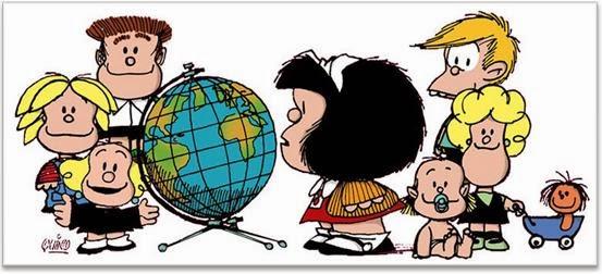 Mundo Mafalda mujer de 40