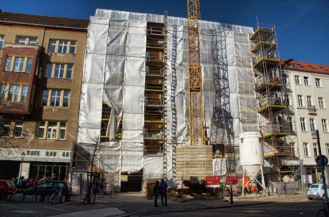 Baustelle Auguststraße / Oranienburger Straße, 10178 Berlin, Neubau, 03.03.2014