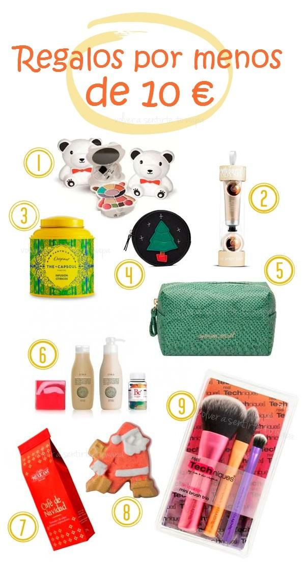9 regalos de Navidad por menos de 10 €
