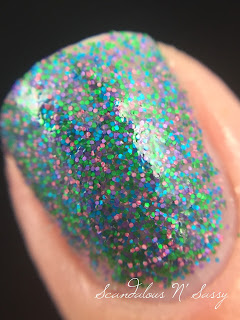 Ninja Polish Sixlets Floam macro