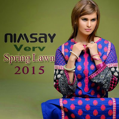 Nimsay Spring Verve Lawn Prints Collection 2015