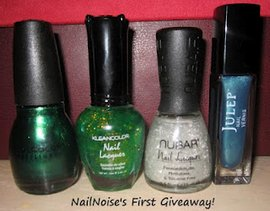 Nail Noise's First Giveaway!