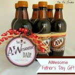 Awesome Father's Day Gift with Printable