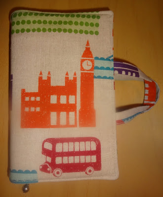 mollie makes journal cover echino london fabric
