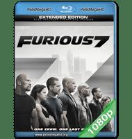 RAPIDOS Y FURIOSOS 7 (2015) EXTENDED 1080P HD MKV INGLÉS SUBTITULADO