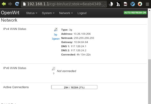 openwrt 3g modem comgt gcom