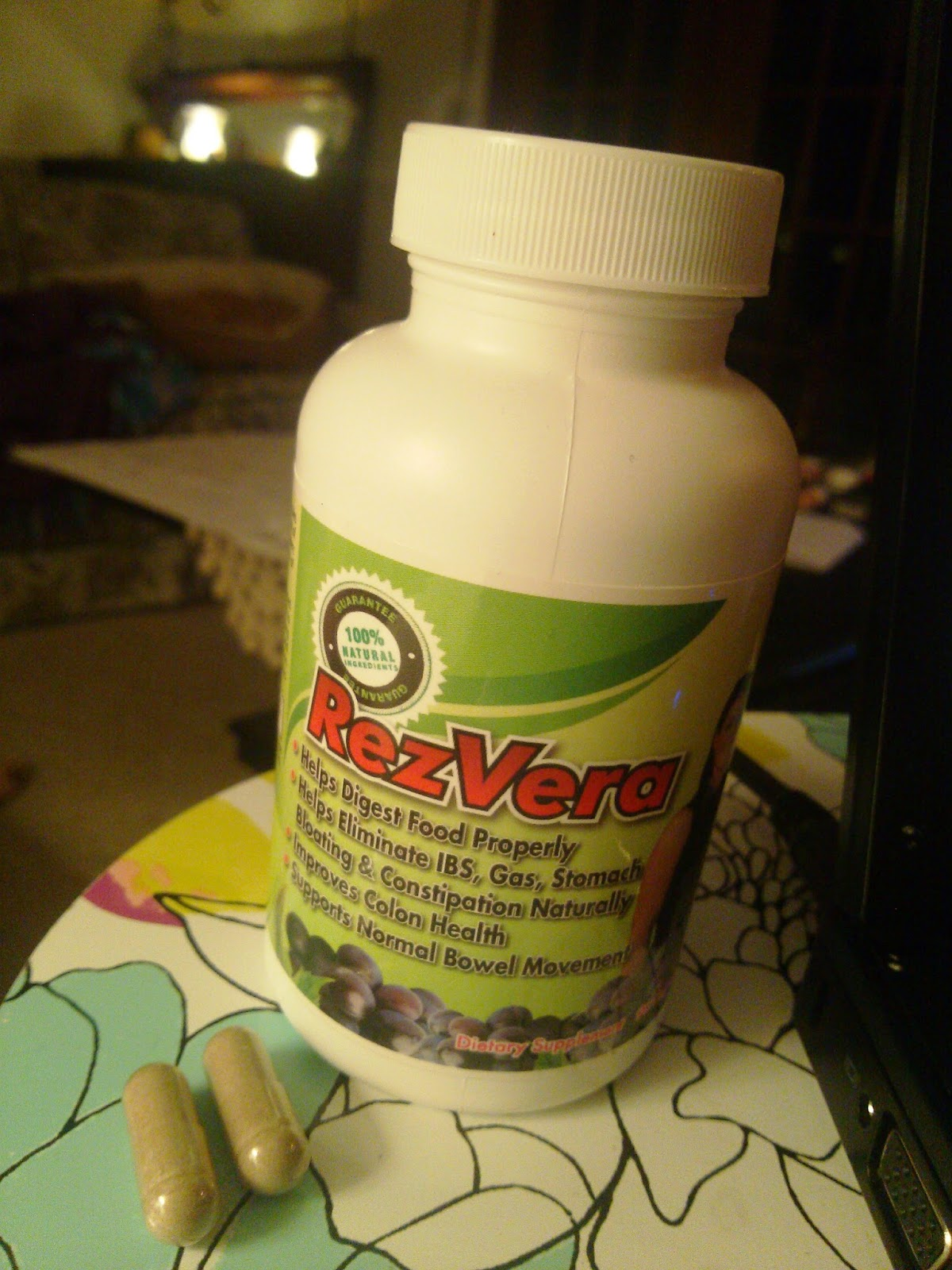 RezVera All Natural Digestive Support Review