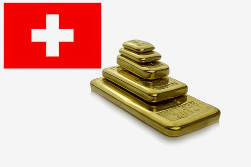 Swiss shocker lights fire under gold price