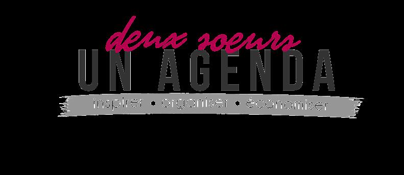 Deux Soeurs Un Agenda - Inspirer, Organiser, Economiser