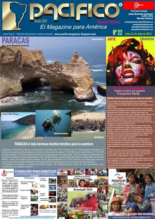 Revista Pacífico Nº 22 Turismo