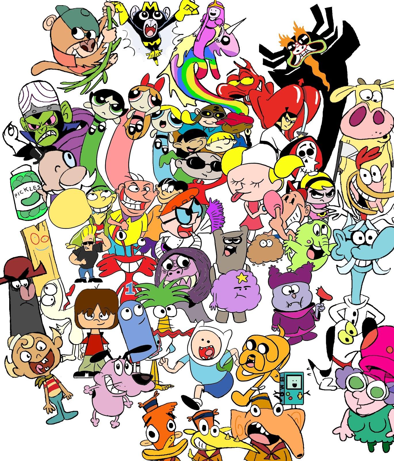 Cartoon Characters Cartoon Network : All cartoon characters from network hot girls
