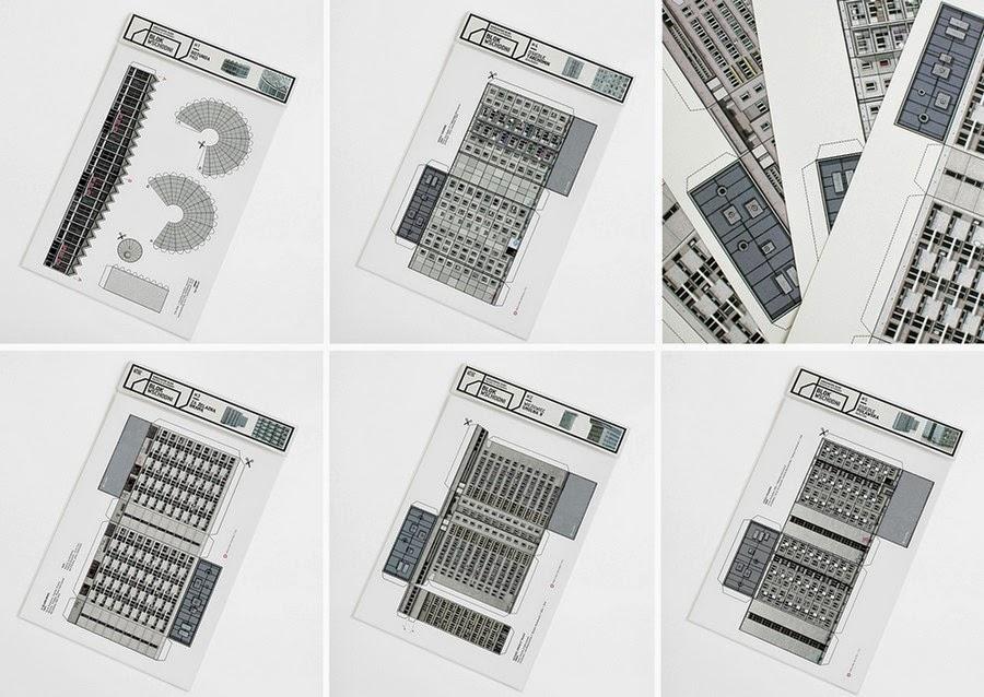 Coleccion de Maquetas en Papel y Carton Reciclado