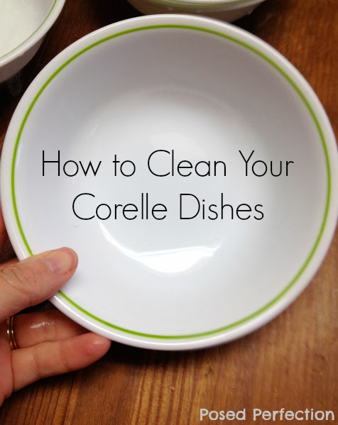 How to Clean Silverware Marks from Corelle Dishes