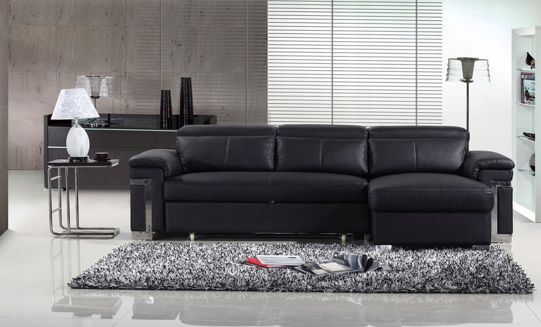 Ashmore leather corner sofa brown right hand facing Furniture