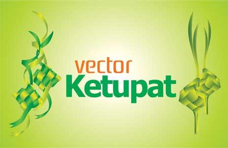 Download Vektor Ketupat Kartu Lebaran